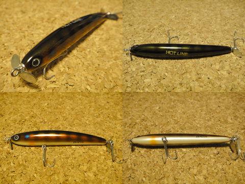 2005年 マレオダブルスイッシャー 10cm (GILL) HOTLINEプレゼントオリカラ