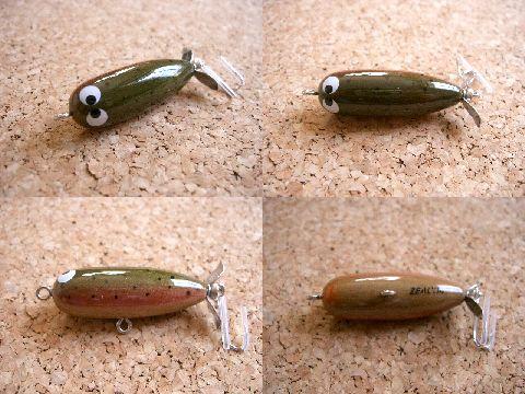 2004年 チマチマプランク 1/4oz (ウッド虹鱒) サムライオリカラ