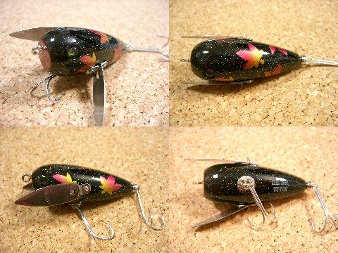 2008年 バイトン 1/2oz (ブラック紅葉) イバラ釣具福袋オリカラ