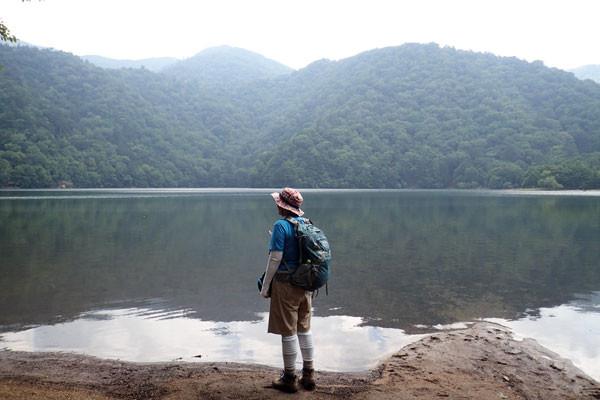 この湖に来たのは2004年以来、11年ぶりだ