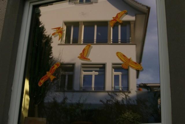Das gegenüberliegende Haus - nur eine Spiegelung?