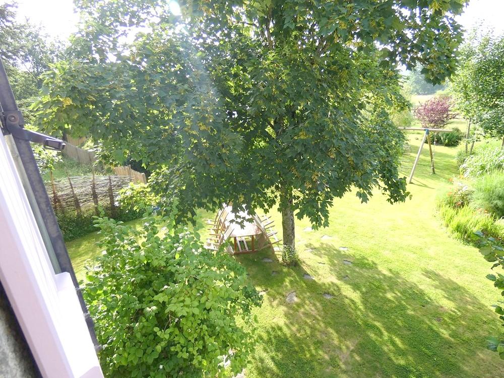 perspective sur le jardin