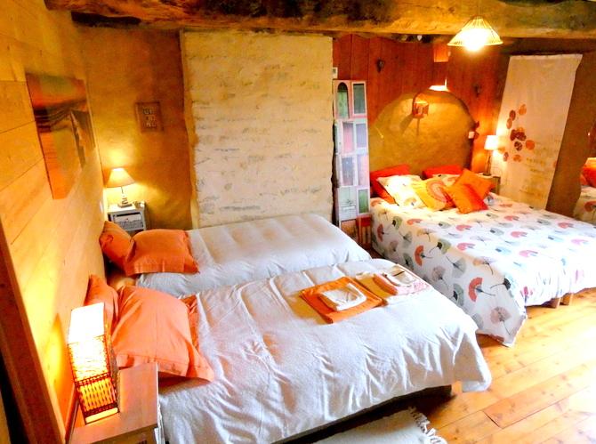 chambre 2 couples