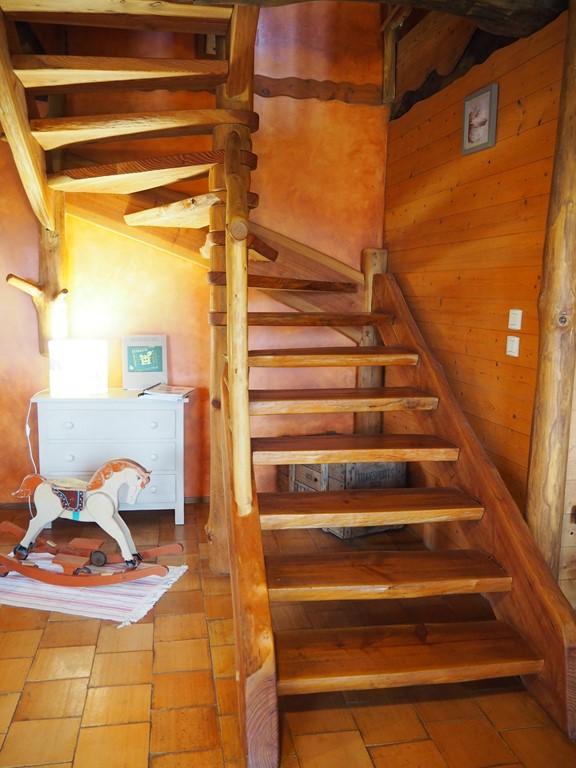 escalier du gîte