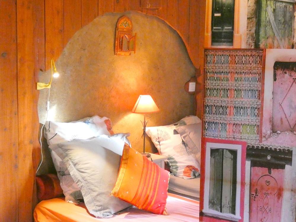 confort et couleur -chambre Jasmine