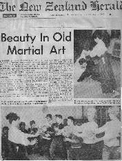 1965年YWCAにての稽古はじめ