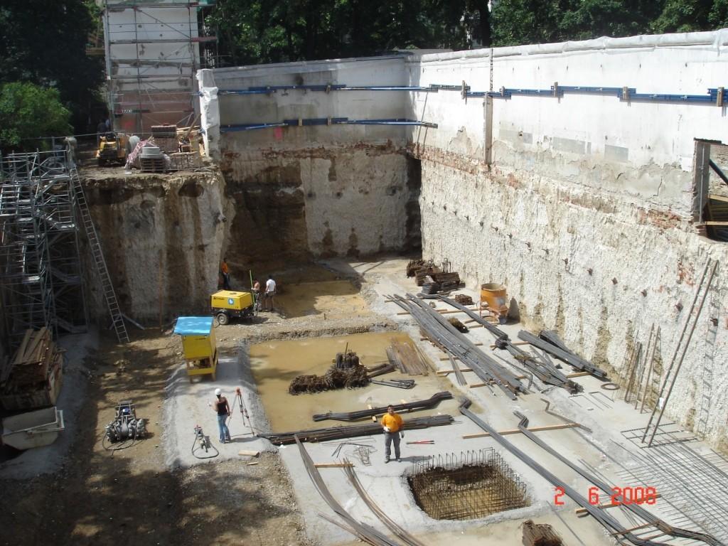 Ströhle - Fundierungen