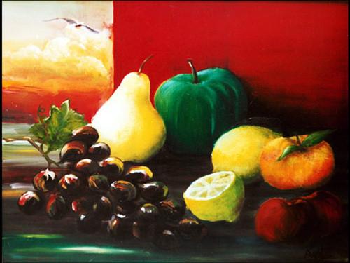 """""""Frutas y gaviota"""""""