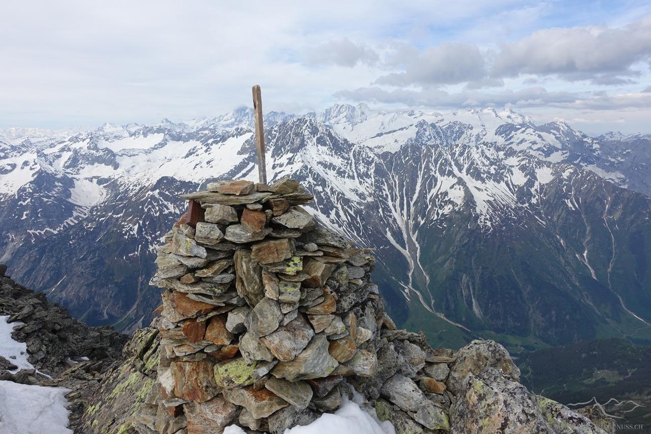 Gipfelsteinmann