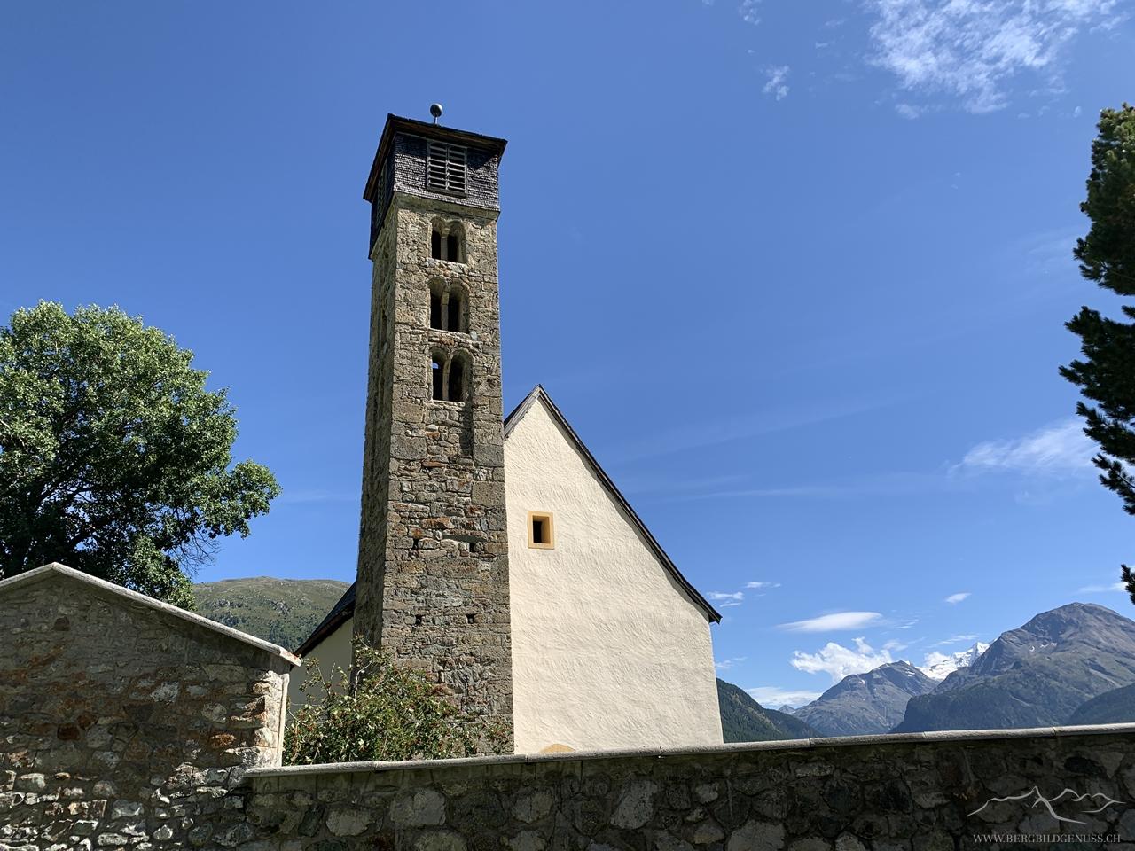 San Gian oberhalb von Samedan