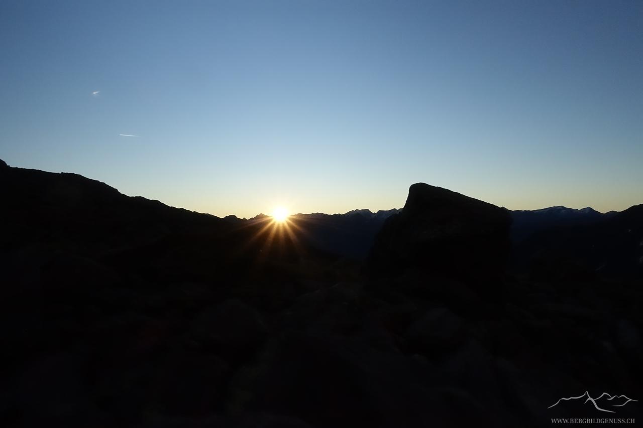 Die Sonne kommt..