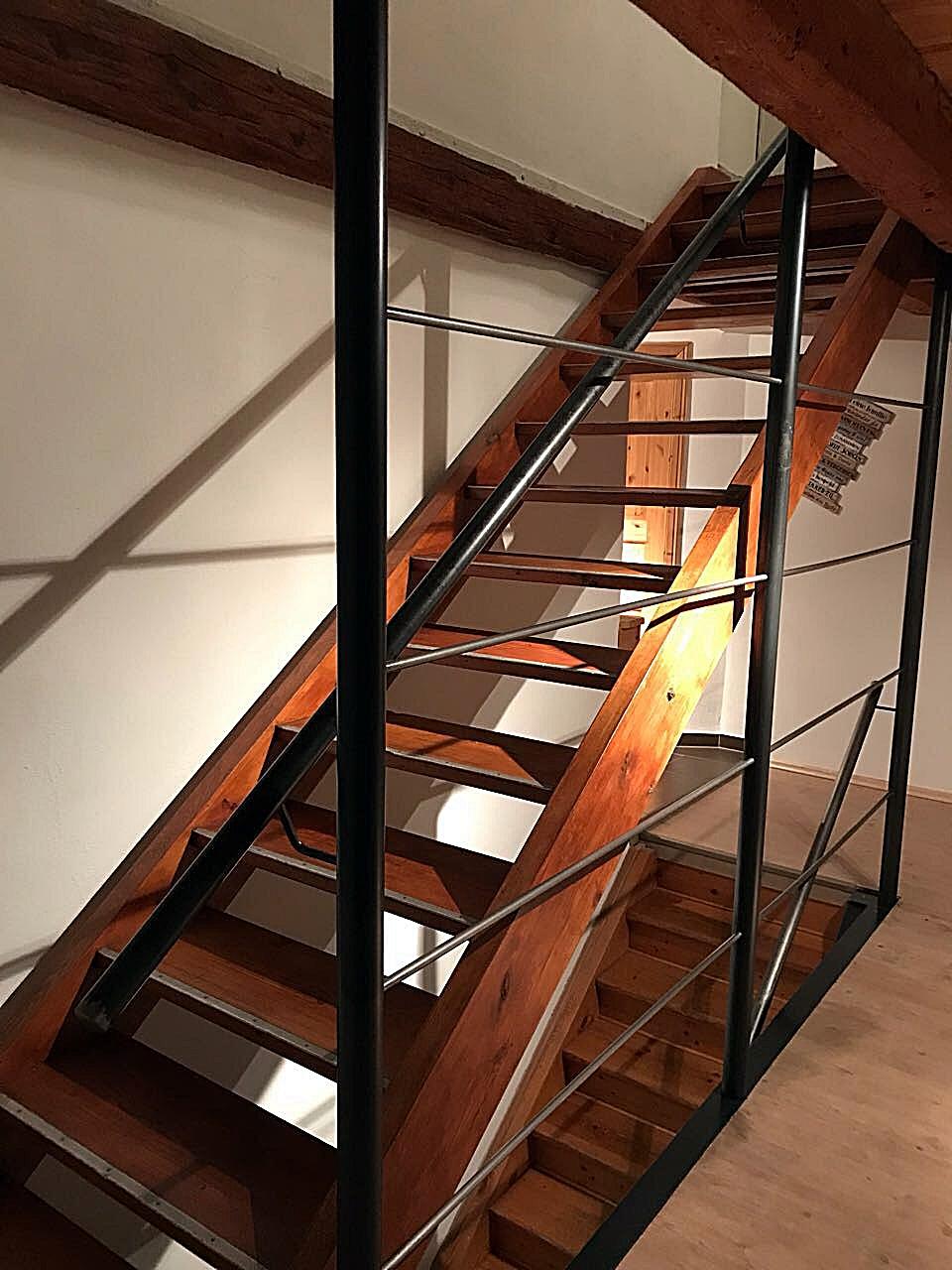 Treppenabtrennung