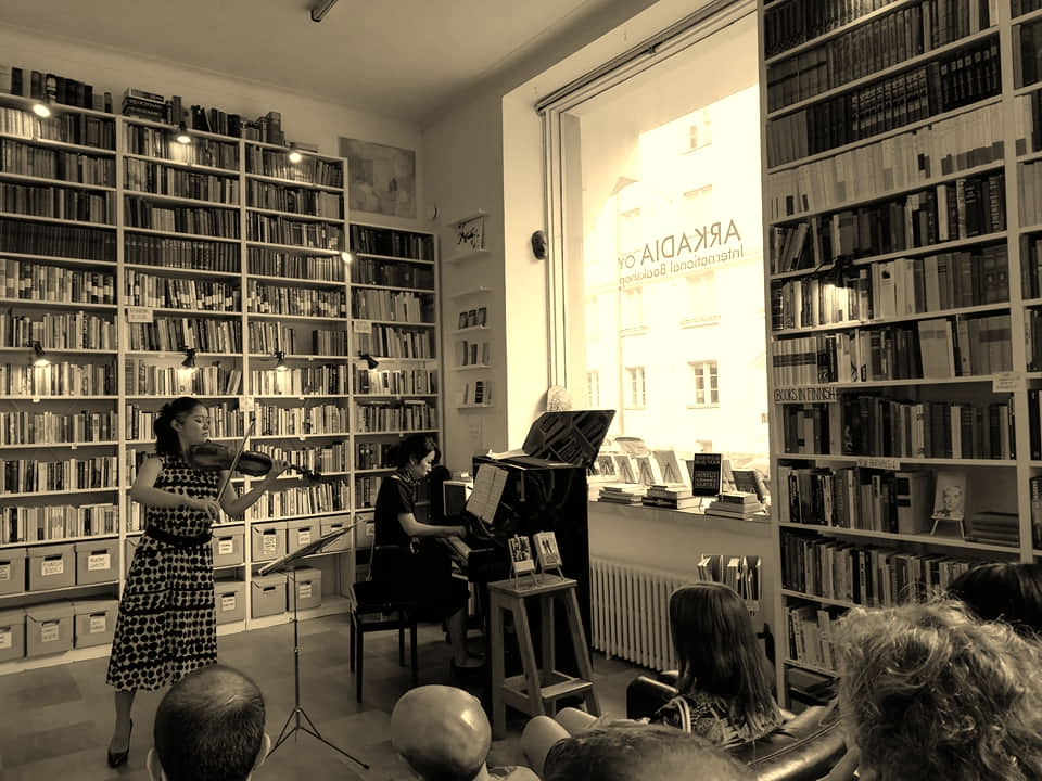 Arkadia international bookshop, Helsinki