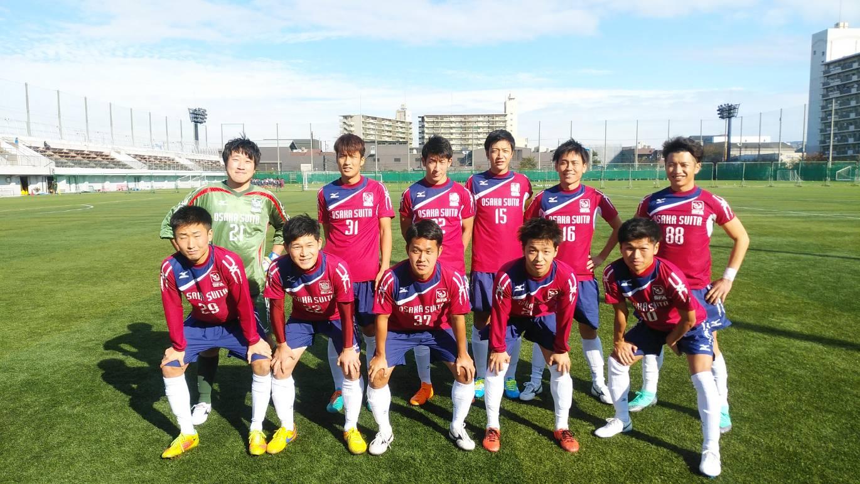 2018年 大阪府リーグ1部 第14節 vs バッジーナ大阪FC 試合前その1