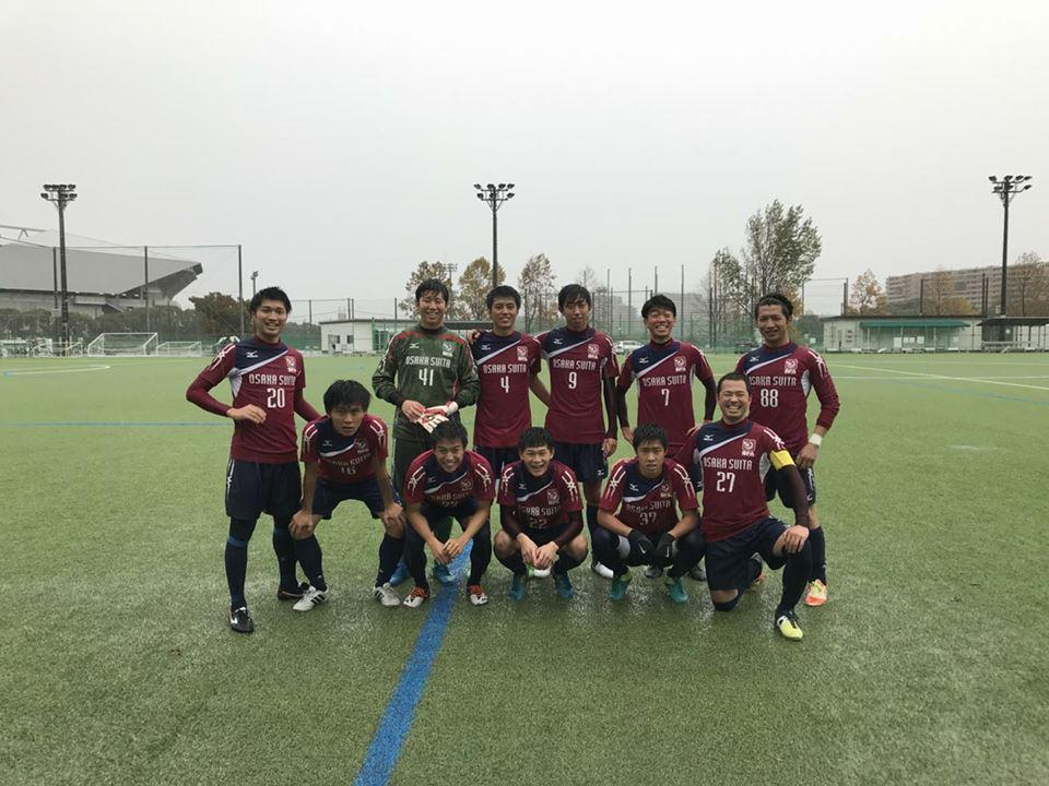 2017年 大阪府リーグ1部 第14節 vs 大阪セントラルFC 試合前その1