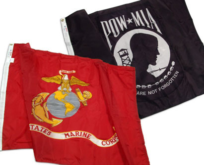 We Carry POW/MIA Flags & All Military Branches