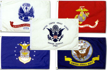Flags of the U.S. Military
