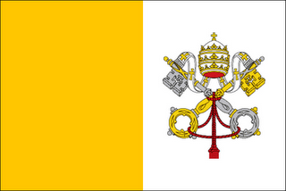 Image result for vatican city flag