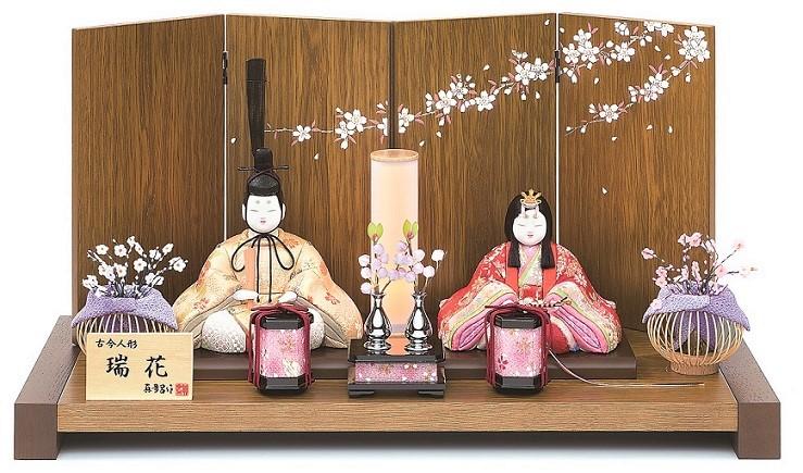 真多呂人形 親王飾り「瑞花雛セット」品番:1285
