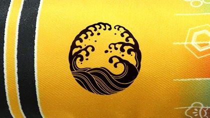 室内飾り鯉のぼり「福寿」 吹流し紋入り