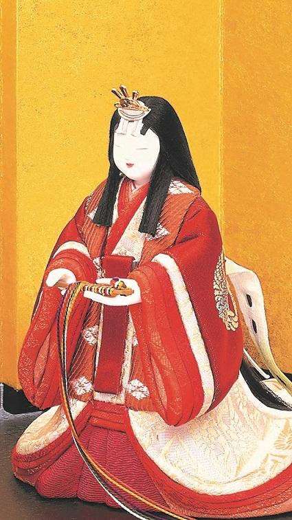 東宮立雛(女雛)