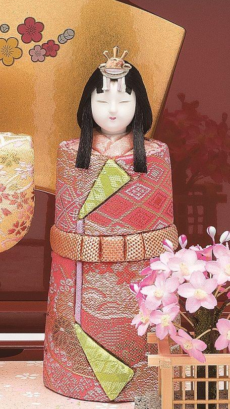 真多呂人形 春桜立雛(女雛)