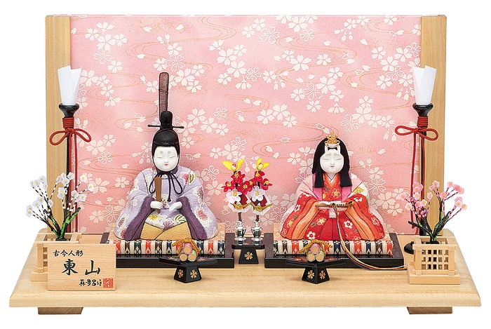 真多呂人形 親王飾り「東山雛セット」品番:1275