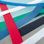 Die Leimstreifen für CopyBinder 5, diverse Farben und Dicken