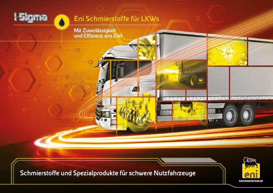 ENI Schmierstoffe für LKWs