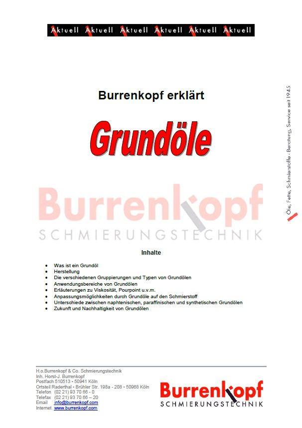 Burrenkopf erklärt: GRUNDÖL