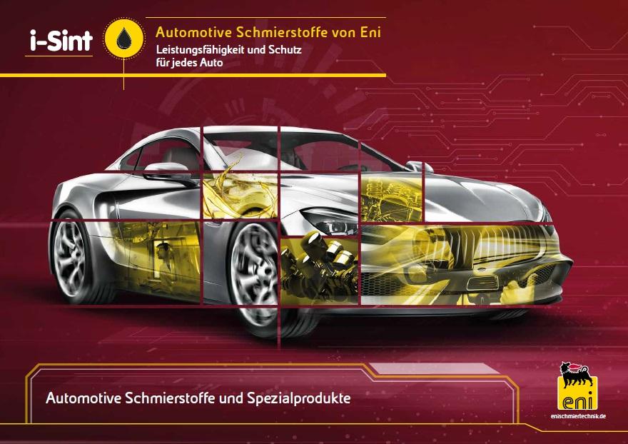 Automotive Schmierstoffe von ENI