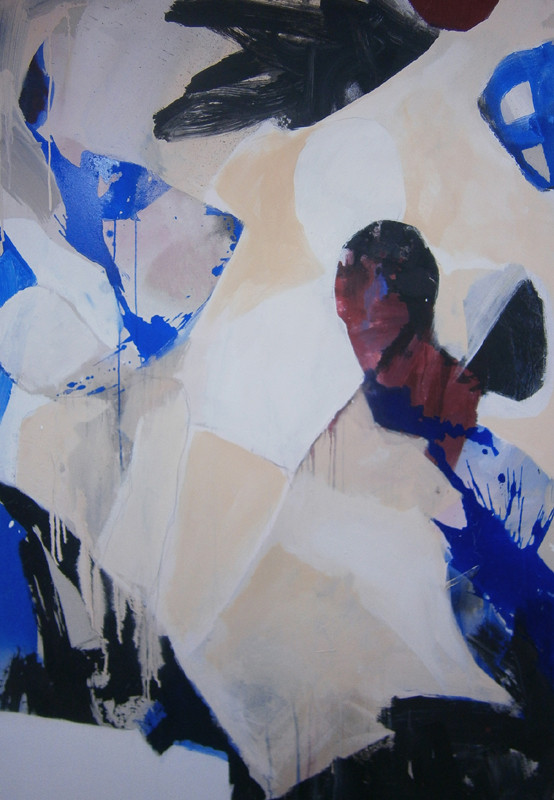 VERKAUFT  - VERKAUFT  - Acrylics on canvas 160 x 110 x 4 cm