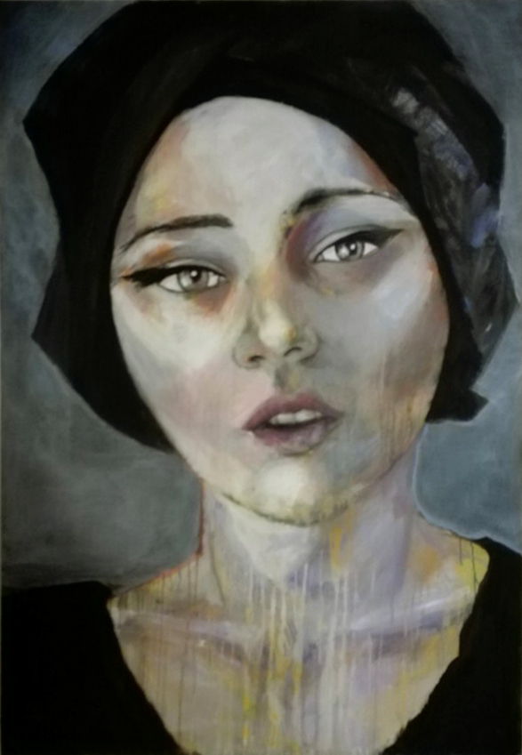 unknown model 1909/17 Acrylics on canvas 130 x 100 x 4 cm   > SOLD <