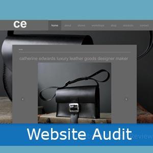 art business website audit