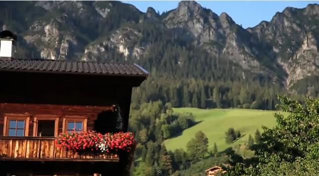 """Das Fürstenhäusl am Fuße der """"Gratlspitze"""" in Alpbach"""