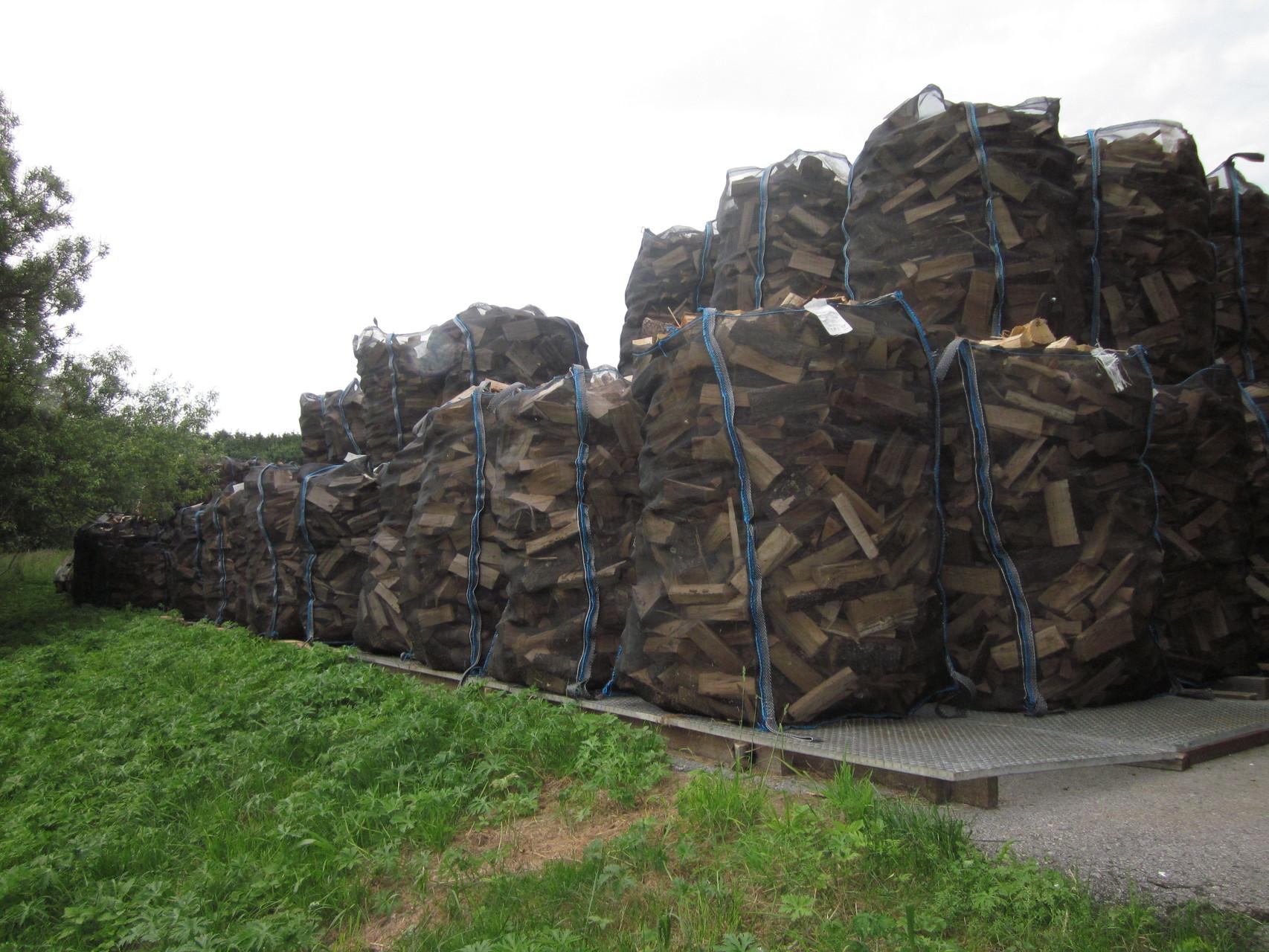 Brennholz in Big Bag´s