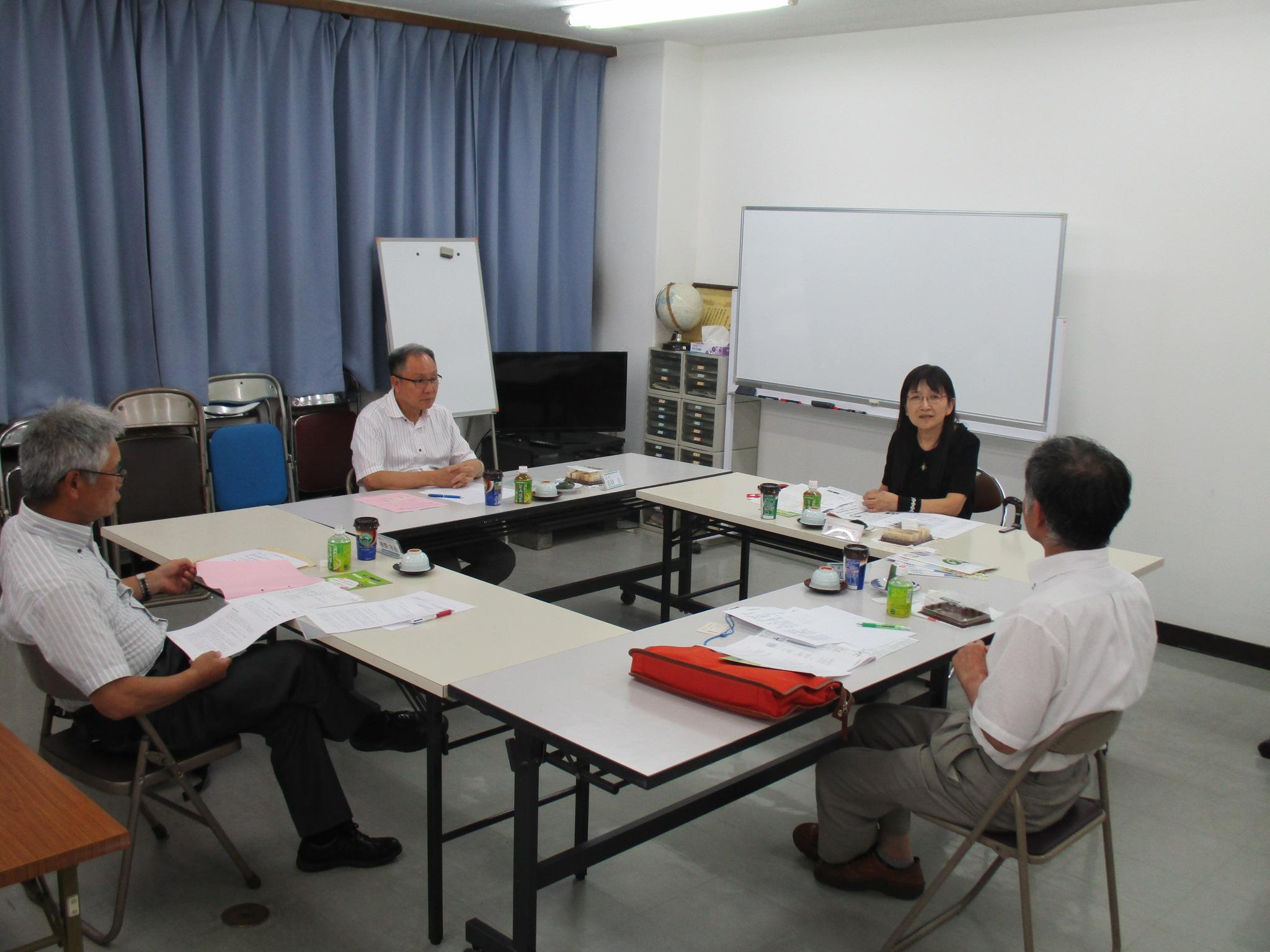8月:日本リウマチ友の会との懇談