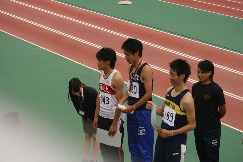 男子800m まっちゃん3位入賞おめでとう!