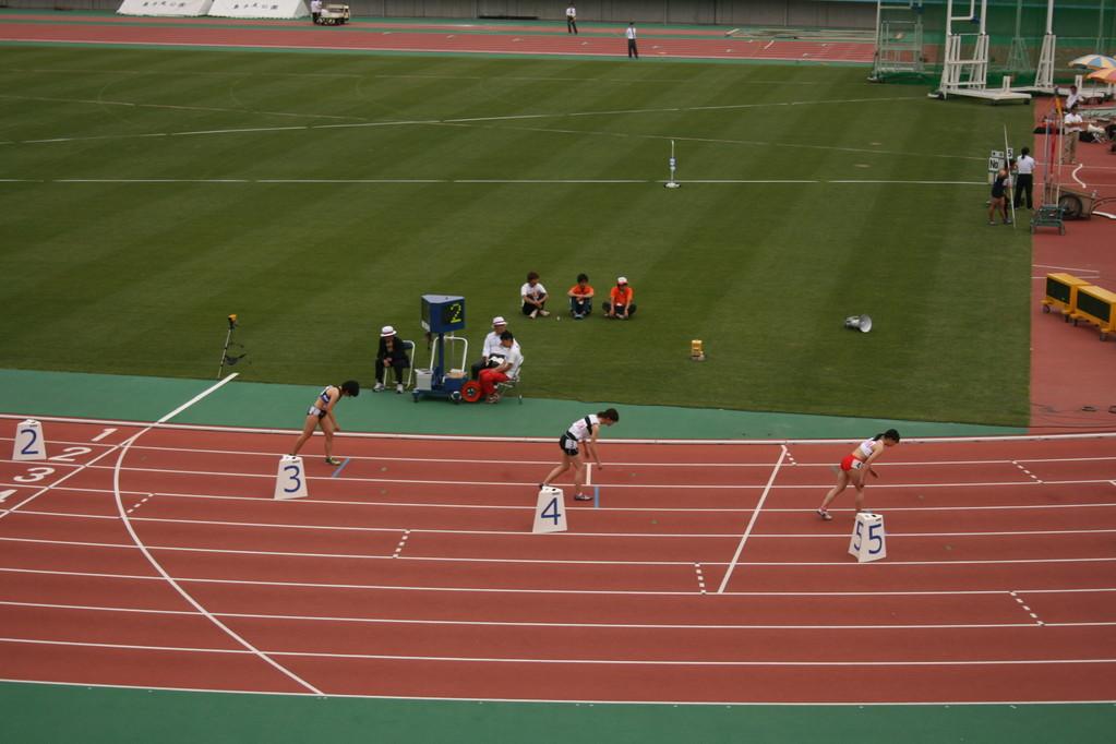 女子800m予選 ちいちゃん