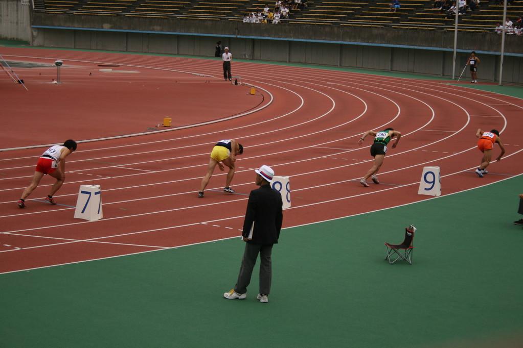 男子800m準決勝 まっちゃん