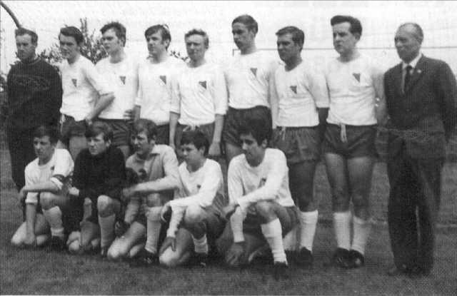 A-Jugend-Kreismeistermannschaft von 1969
