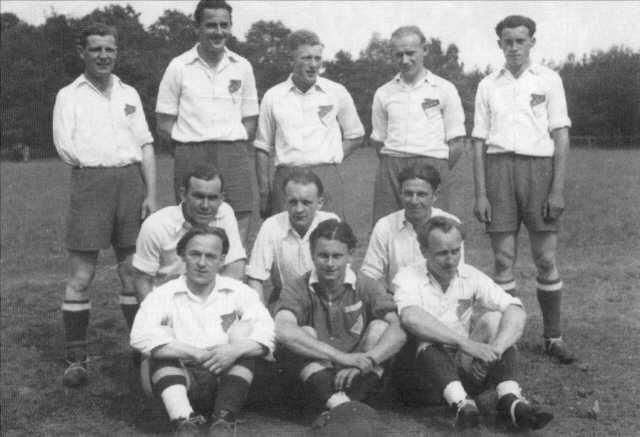 1. Herrenmannschaft Anfang der 50er Jahre
