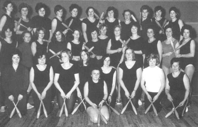 Damen Gymnastikgruppe 1970