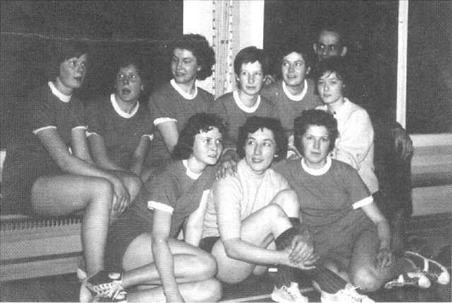 Damenhandballmannschaft von 1960