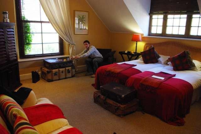 Hotel 5 étoiles à Stellenbosch (on a été invité)