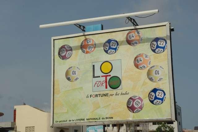 La loterie nationale du Bénin et son slogan qui tue !