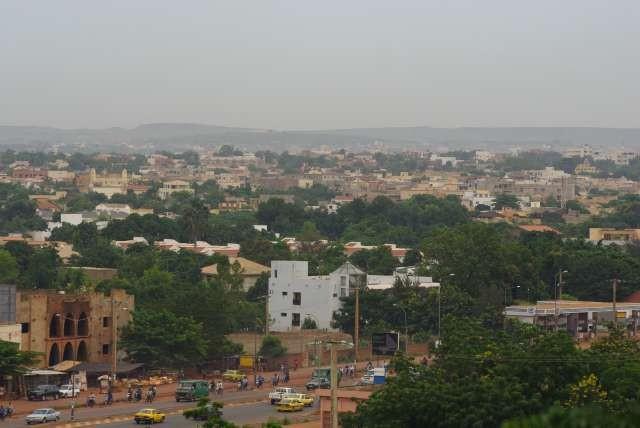 Bamako et son smog de pollution