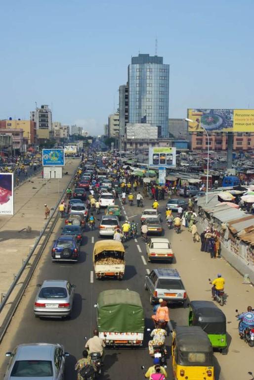 La circulation à Cotonou