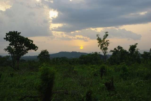 Coucher de soleil sur le Pic d'Agou