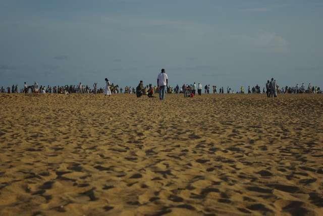 La plage de Cotonou, le dimanche